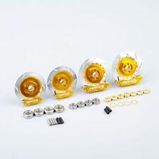 1/10 RC On-Road Racing Model Car Gold Aluminum Wheel Rim Brake Disc For HSP HPI