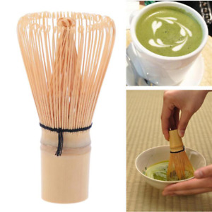 Pro Handicrafted Bamboo Matcha Chasen Green Tea Powder Whisk Holder Scoop Tea