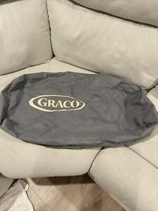 Graco Pack n Play Replacement Storage Cover Carry Bag w/ Zipper Grey/Tan