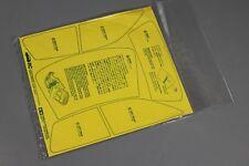 Tamiya R/C 1/10 Volkswagen Golf V5 FF01 # 58206 Masking tape sticker 1425542