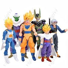PACK 6 X FIGURAS DRAGON BALL Z BOLA DE DRAGON SON GOKU -CALIDAD 17,5 CM