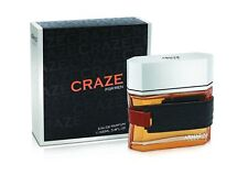 CRAZE FOR MEN By ARMAF 3.4 oz EDP Spray *MEN'S PERFUME* NEW SEALED BOX*COLOGNE*