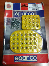 PEDAL-BOARD SPARCO UNIVERSAL 3 PEDALE GELB TUNING SET OF PEDALS YELLOW