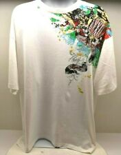 Pepe Jeans London T-Shirt Men's White/Multicolor Size XL FREE SHIPPING BRAND NEW