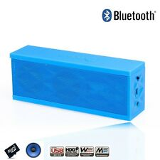 Wireless Bluetooth Boombox Mini Speaker w/Microphone for Samsung iPhone Laptop