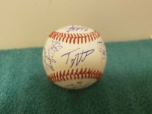 2021 Tennessee Volunteers team signed Official League Baseball !!! CWS