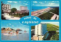 Cartolina - Saluti da - Lignano - Vedutine - VG