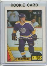 1987-88 OPC O-Pee-Chee Luc Robitaille Rookie Card RC #42 Near Mint