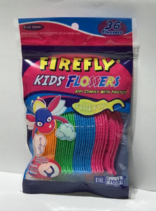 Firefly Kid's Flossers - 36 per package