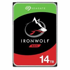 "Seagate IronWolf 14To SATA III 3,5"" NAS Disque Dur Interne (ST14000VN0008)"