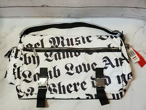 LeSportsac L.A.M.B. by Gwen Stefani World Tour Messenger BagMEGA LAMB WHITE