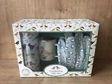 Gardening Gift Set Emma Lawrence Designs Apron Gloves & Enamel Mug