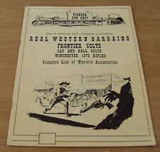 "VTG 1950's COLT Revolver/Rifle WESTERN Wear~""PIONEER GUN SHOP""~Burbank CA~"