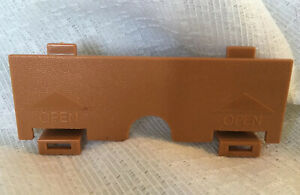 Vintage Worlds of Wonder Teddy Ruxpin  ~ Battery Cover Replacement Part