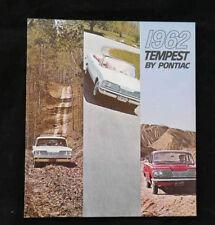 Prospectus/Brochure-pontiac tempest 1962