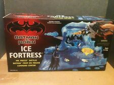 1996 Kenner Hasbro Batman & Robin Ice Fortress Action Figure Playset New Sealed
