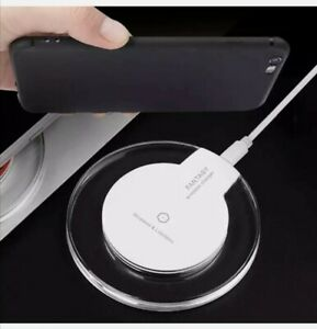Qi Inalámbrico Cargador Pad de Carga Rápida Para Samsung Apple iPhone XS Xr S8 S