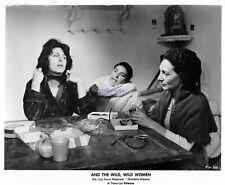 AND THE WILD WILD WOMEN EIGHT 1959 WOMEN IN PRISON 8X10S ANNA MAGNANI SET #1