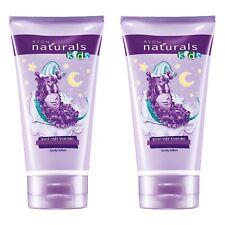 Avon Naturals Kids Goodnight Lavender Body Lotion 2x 150ml tubes - NEW