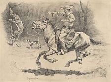 American Drawings: Remington Reproductions: Pursuit - Fine Art Prints