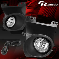 CLEAR LENS OE FITMENT FOG LIGHTS+SWITCH+WIRE LH+RH FOR 09-14 FORD F-150 TRUCK