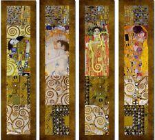 'Dipinti Klimt - composizione 1 quadro - Stampa d''arte su tela telaio in legno'