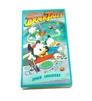 RARE NEW Disneys Ducktales - Space Invaders (VHS, 1990). NEW in packaging!