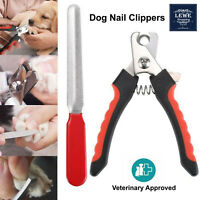 Dog Nail Clippers and Trimmer With Safety Guard Razor Sharp Blades Pet Grooming