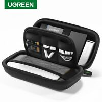 "Ugreen External Storage 2.5"" Hard Drive Case HDD SSD for Seagate Power Bank Bag"