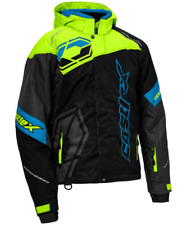 Castle X Men's Code Snow Jacket Black/Hi Vis/ Blue Men's size MD: FREE Shipping!