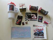 Collection of Unique Dale Earnhardt Club E Memorabilia 12 Items Total