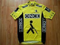 ONCE Team Cycling Jersey, Castelli , ETXE-Ondo Gr.: XL Jalabert , SELTEN!