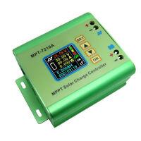 24/36/48/60/72V 10A LCD MPPT Solar Battery Regulator Charge Controller Panel