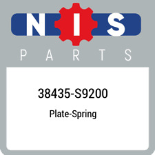 38435-S9200 Nissan Plate-spring 38435S9200, New Genuine OEM Part