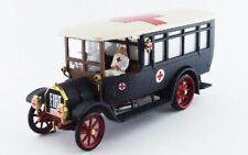 Fiat 18 BL C.R.I. Croce Rossa Italiana + 2 Figure 1915 Grande Guerra 1:43 RIO