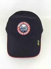 White Pass & Yukon Route Embroidered Black Hat Cap 2013 Cotton Adjustable