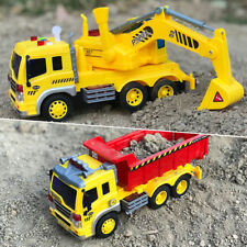 1-16-Truck-Engineering-Vehicles-Construction-Excavator-Friction-Trucks-Car-Toys