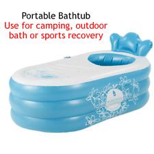 Inflatable Bathtub Camping Sports Training Recovery Bath Spa Water Tub Portable