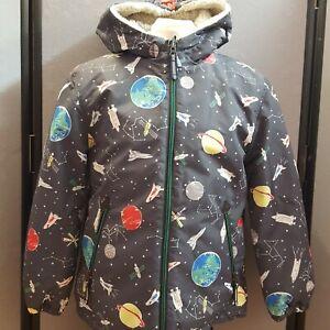 Boys Or Girls Mini Boden Fleece Lined Waterproof Coat Age 11-12 Years
