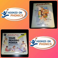 NEVER USED Hooked On Phonics Cassette SRA Your Reading Power Set Home Schooling