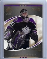 Jonathan Quick 2007-08 SP Authentic Future Watch Limited RC Rookie  #177 058/100