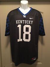 Kentucky Wildcats NCAA Blank Football Jersey Youth Medium Nike