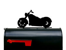 Motorcycle Mailbox Topper / Plaque / Sign - Made in USA