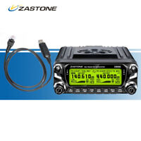 Zastone ZT-D9000 50W Car Mobile Ham Radio 50km Dual Band  Walkie Talkie +  Cable