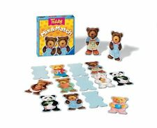Ravensburger Teddy Mix and Match - Children`s Game , New, Free Shipping