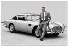 James Bond 24 - Spectre 007 Movie Silk Poster 24x36 inch 002