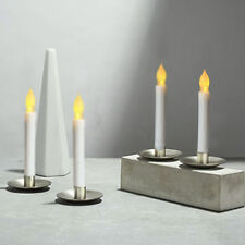 6x 165mm Battery Flameless Led Candle Flickering Light Taper Decor Candle
