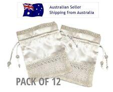 Organza & Satin Bag - 10cm x 12cm - Pack of 12