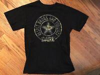 Vintage Dare T Shirt Mens Small