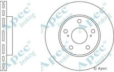 1x OE Quality Replacement Front Axle Apec Vented Brake Disc 5 Stud 273mm Single